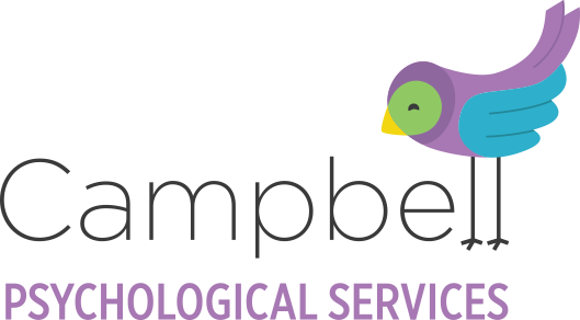 Campbell Psychological Services Retina Logo